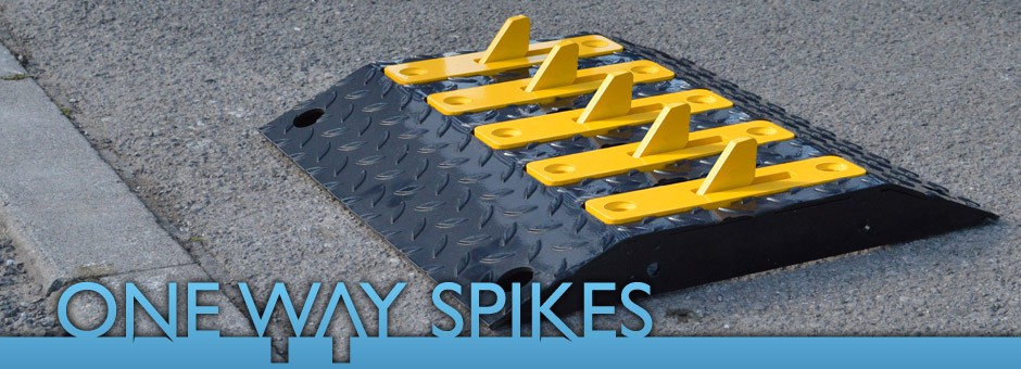 One Way Spikes